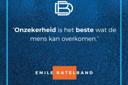quote van de dag - Emile Ratelband