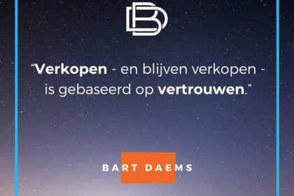 quote van de dag - bart daems